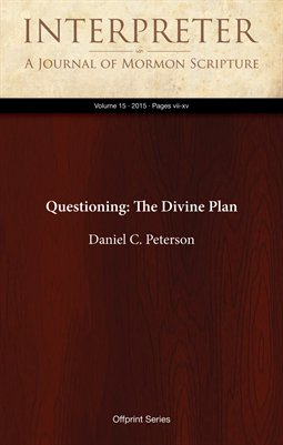Questioning: The Divine Plan