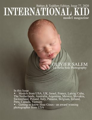 International Kid Model Magazine Issue #77 Babies & Toddlers