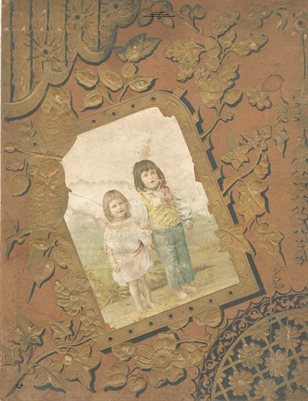 Walle Albritton 1800's Scrapbook