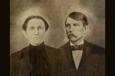"""Alfred Lester Willis & Magdaline Lena"""" Victoria Hayden"""