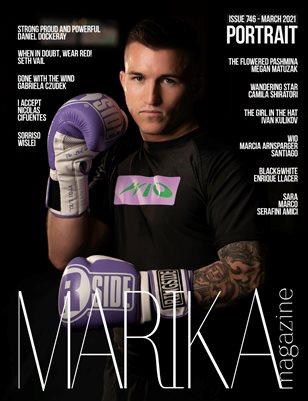 MARIKA MAGAZINE PORTRAIT (ISSUE 746- MARCH)