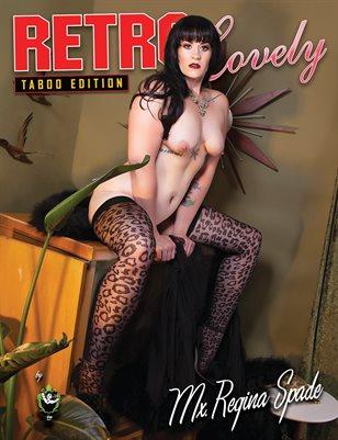 Taboo Edition No. 31 – Mx. Regina Spade Cover