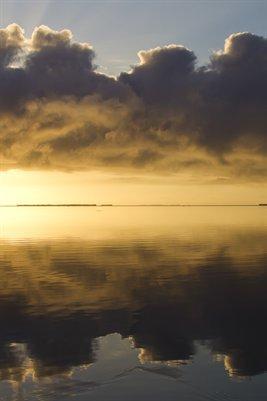 Enlargement Sunrise Florida Bay