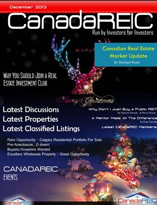 Canada REIC Magazine First Edition