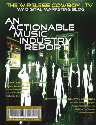WPLV24-TV : Digital Marketing Report for the Music Industry - 2014 Season 1