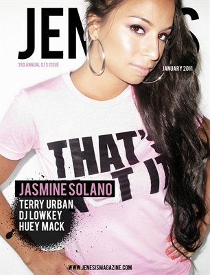 Issue 44: January 3rd Annual DJ Issue feat Jasmine Solano