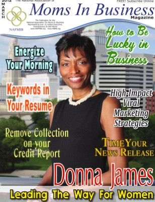 Moms In Business Magazine - March 2012