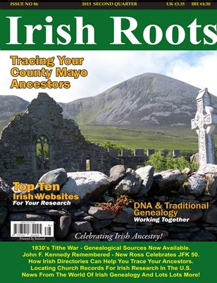 Irish Roots Magazine - Issue no 86