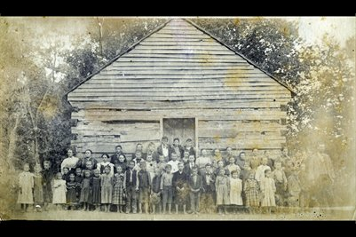 Pugh Flats School, Trigg County, Kentucky