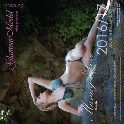 Mandy Love (Reno, NV) Feature Model Calendar No. 1S