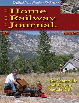 Home Railway Journal: WINTER 2010