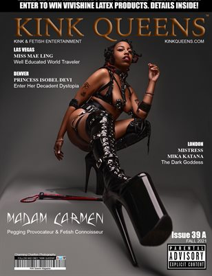 KINK QUEENS MAGAZINE   ISSUE 39 A   FALL 2021