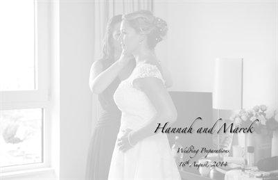 Hannah and Marek - Wedding Preparations