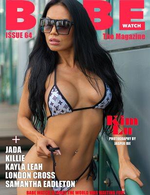 BABE WATCH ISSUE 64 FT. G MODEL ENT MODEL KIM LU