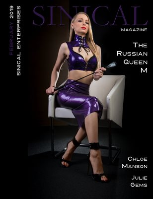 Sinical February 2019 Issue - The Russian Queen M cover
