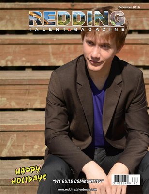 Redding Talent Magazine December 2016 Edition
