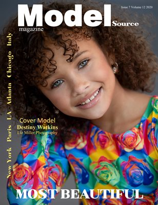 Model Source magazine MOST BEAUTIFUL Issue 7 Volume 12 2020