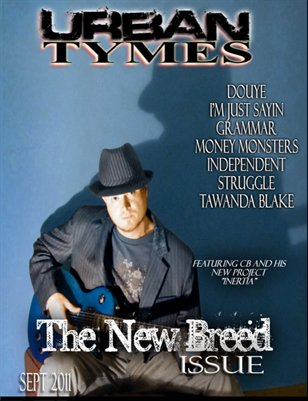 Urban Tymes Sept 2011 Issue CB Cover