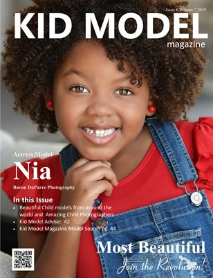 Kid Model magazine issue 6 Volume 7 2019 MOST BEAUTIFUL