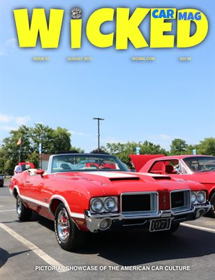 WICKED CAR MAGAZINE AUGUST ISSUE OLDS 442