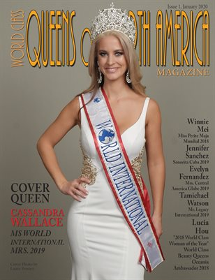World Class Queens of North America Magazine Issue 1 with Cassandra Wallace