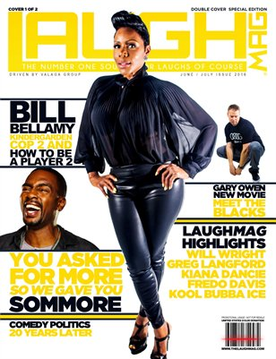 LaughMag Summer 2016 Sommore Cover 1