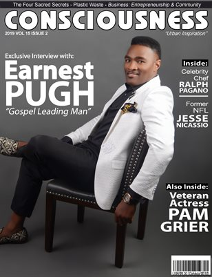 Earnest Pugh featured on Consciousness Magazine