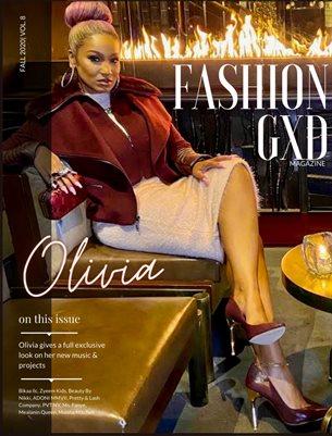 "Fashion Gxd Magazine ""Fall 2020"" (Singer Olivia Love & Hip Hop NYC)"