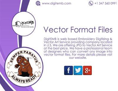Vector Format Files
