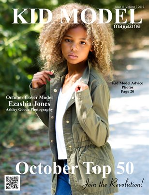 Kid Model magazine Issue 11 Volume 7 2019 OCTOBER TOP 50