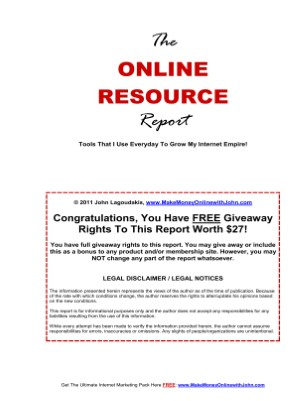The Online Resource