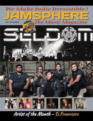 Jamsphere Indie Music Magazine July 2016