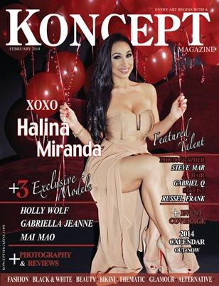 Koncept Magazine February 2014