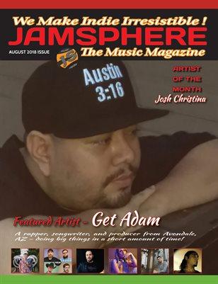 Jamsphere Indie Music Magazine August 2018