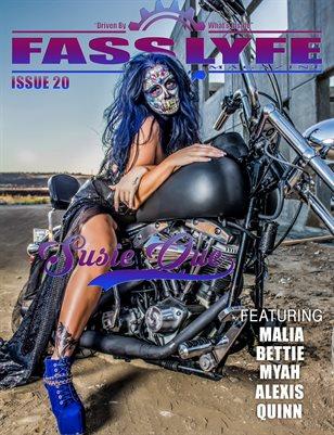 FASS LYFE MAGAZINE ISSUE 20 FT SUSIE QUE