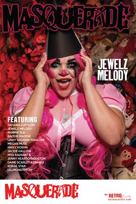 Masquerade No.7 – Jewelz Melody Cover Poster