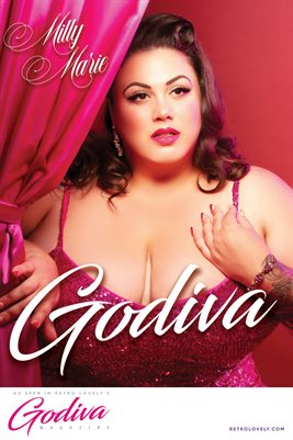 GODIVA No.19 – Milly Marie Cover Poster