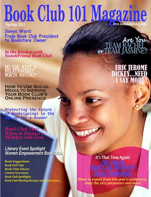 Book Club 101 Magazine - 2012 Spring Edition