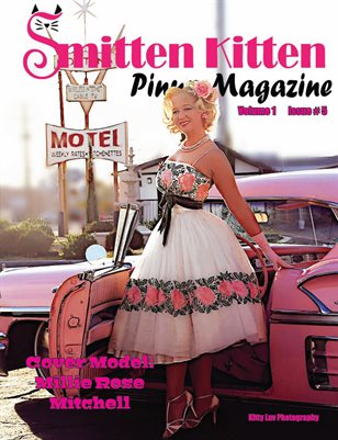 Smitten Kitten Pinup Magazine Cover 2 Millie Rose Mitchell May 2020 Issue