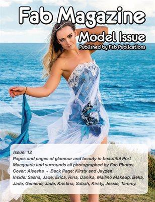 Fab Magazine Model Issue 12