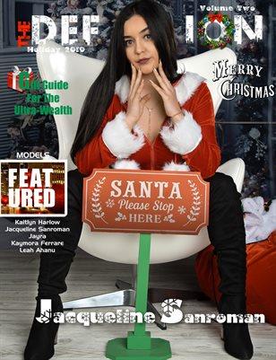 TDM Jacqueline Sanroman Xmas Issue 2 cover2