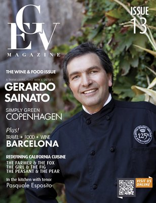 GEV Magazine Wine & Food Issue 13.0