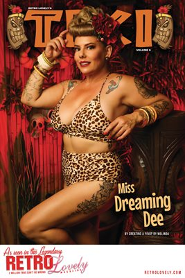 TIKI Volume 6 - Miss Dreaming Dee  Cover Poster