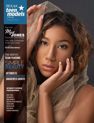 Texas Teen Models Official Magazine - October 2020 - Vol. 37