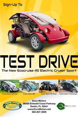 Ecocruise - TestDrive Red (Ecco)