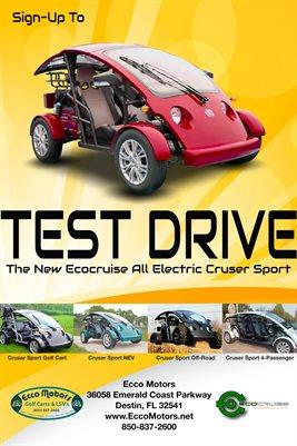 Ecocruise - TestDrive Red (Ecco)
