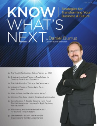 Know What's Next 2012 by Daniel Burrus VOL. 3