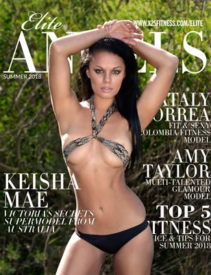 Elite Angels Swimsuit Magazine Issue 1 -Keisha Mae