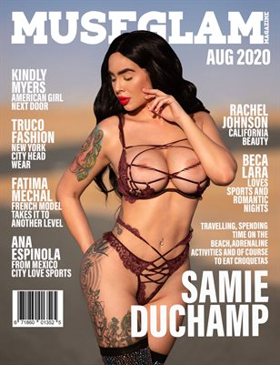 Muse Glam Magazine August 2020 Samie Duchamp