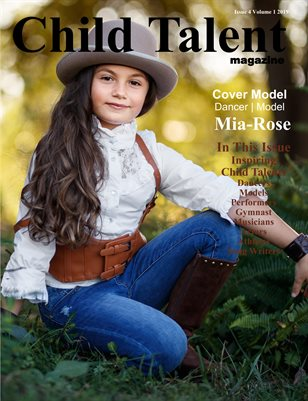 Child Talent magazine Issue 4 Volume 1 2019